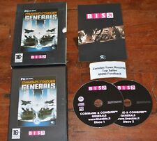 Command & Conquer Generals Pc Eccellente Doppio Disco con product Key