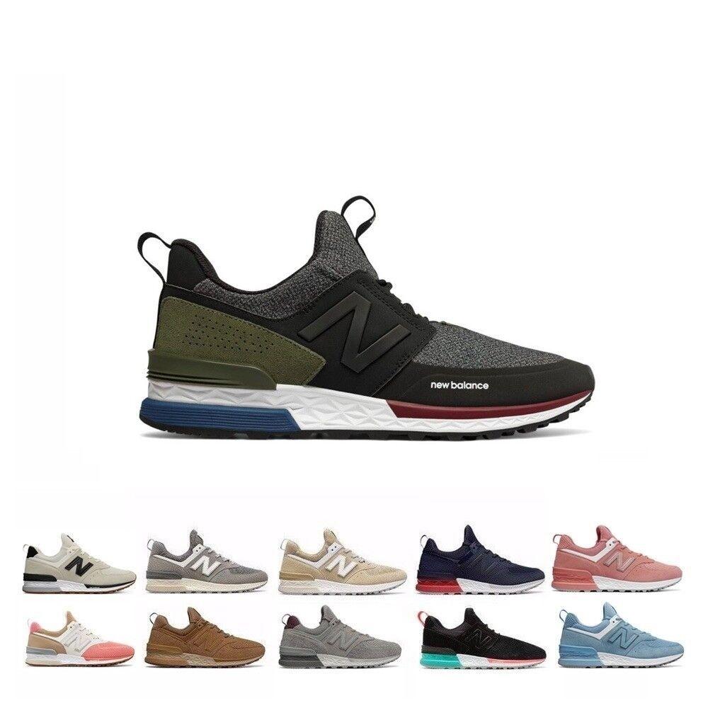New Balance 574 Sports Men's shoes Fresh Foam MS574BG MS574BS MS574CB MS574SCO