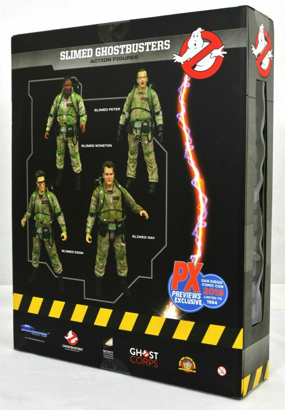 Ghostbusters Action Figure Box Set PX Preview Diamond Select SDCC 2019 Ltd 1984