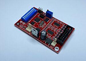 8 channel DMX Analogue 0-5v / 0-10v converter PCB, DMX08A. Stock in Australia.
