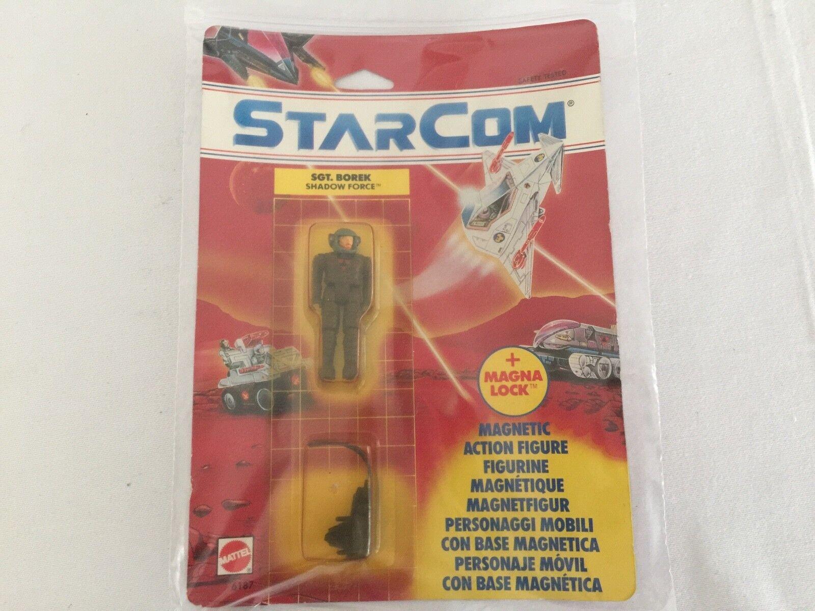 Figura EstrellaCOM Sgt. Borek en tarjeta menta en tarjeta sellada Mattla versión europea