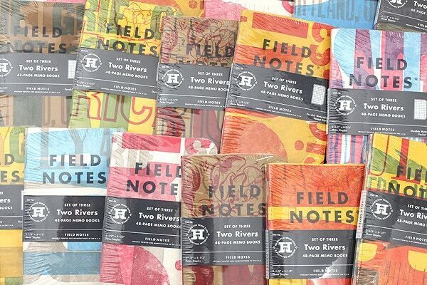Field Notes Two Rivers Edition SEALED 3-Pack Memo Notebooks FNC-26