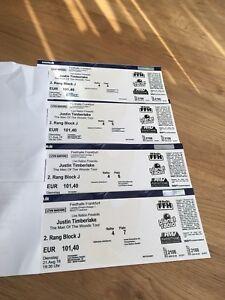 justin timberlake tickets frankfurt