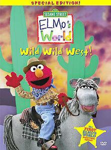 Details About Sesame Street Elmos World Wild Wild West Dvd 2001
