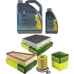 Inspektionspaket-6L-Mercedes-Ol-229-5-5W40-MANN-Filterpaket-11087723