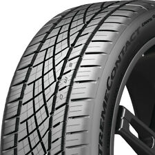 1 New 28535zr19 99y Continental Extremecontact Dws06 Plus 285 35 19 Tire