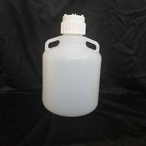10 Liter 2 5 Gallon Nalgene Tm Autoclavable Pp Carboy