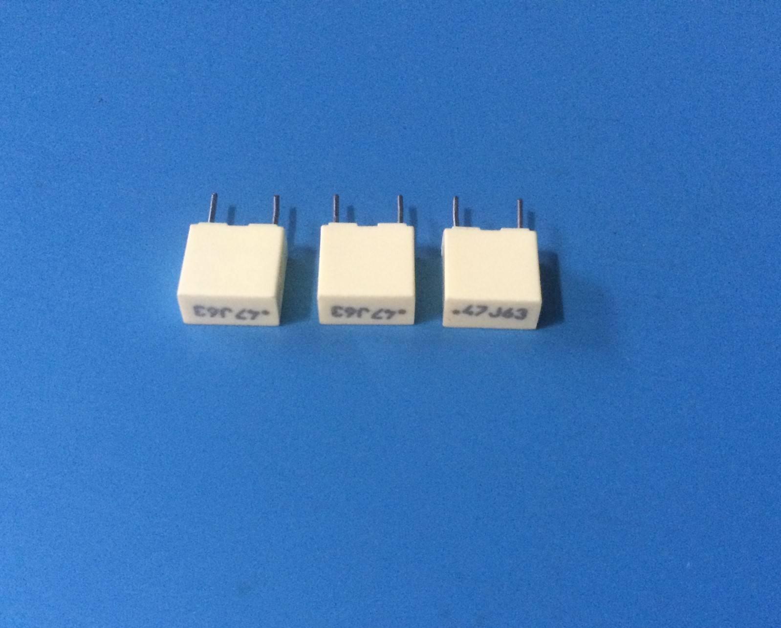 0,1uF 63V 5/% 5mm R82DC3100DQ50J ARCOTRONICS Film Capacitors 100nF QTY=50pcs