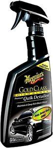 Meguiar's G7624 Gold Class Premium Quik Detailer - 24 oz.