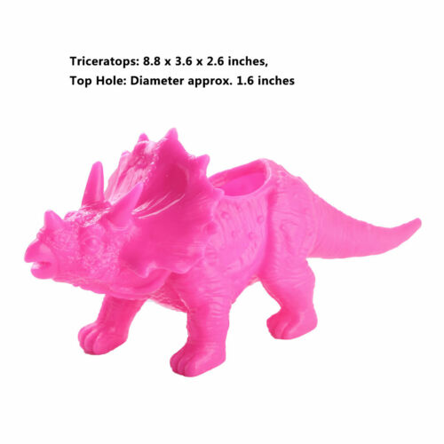 US/_1Pc Dinosaur Vase Flower Pot Potted Planter Container for Home Office Decor