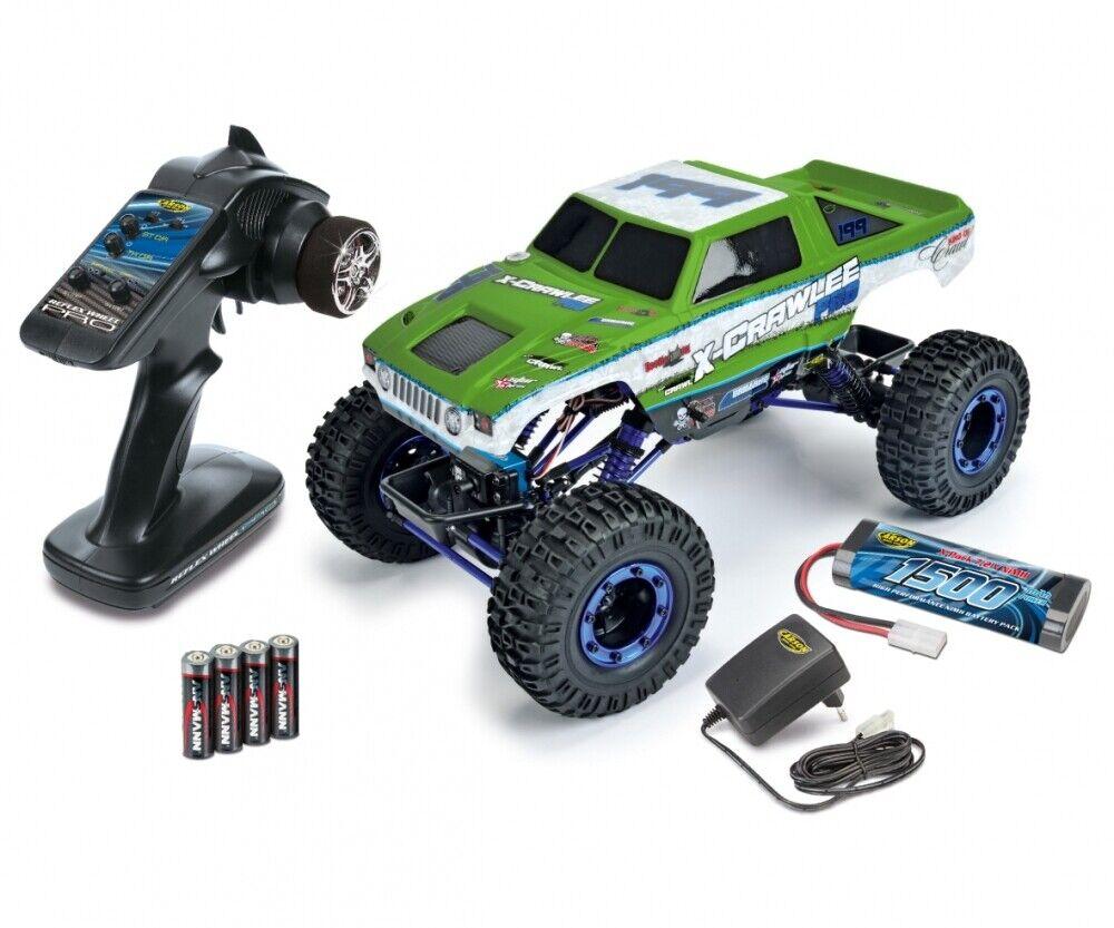 Carson 500404068 - 1 10 X-crawlee XL 2.4g 100% rtr  verde  - nuevo