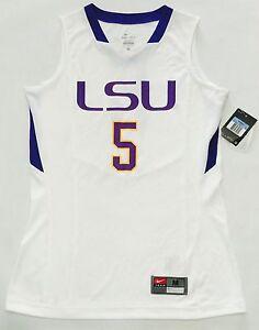 fb2b9f977ef NEW Louisiana State LSU NIKE Dri-Fit Womens Basketball Jersey NCAA ...