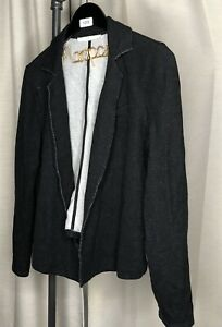 Peruvian-Connection-Open-Front-Cardigan-Womens-Size-Large-Viscose-Cotton-Spandex
