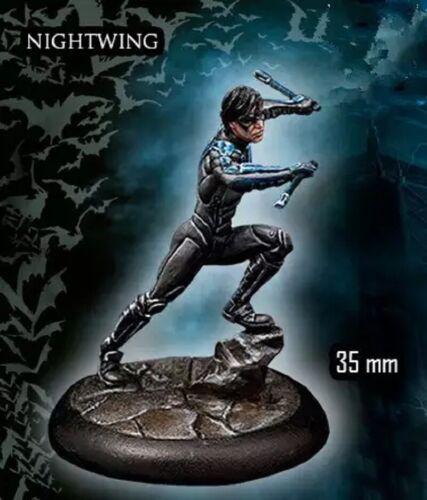 35mm Resin Figure Model kit SuperHero NightWing Warrior Unpainted Unassambled