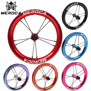 MEROCA 12  niños Slide bici rueda rueda de equilibrio personalizado ciclismo Superlight