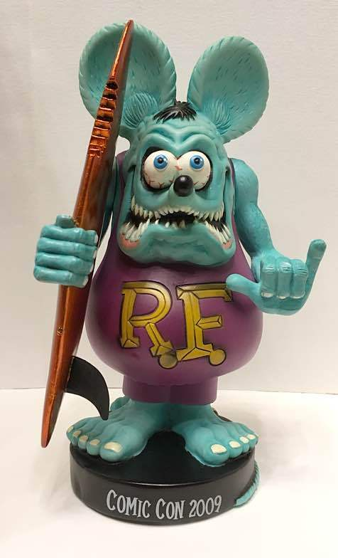 Rat Fink Surf Bubble head ComicCon 2009 World Limited 480 pieces from JP F A