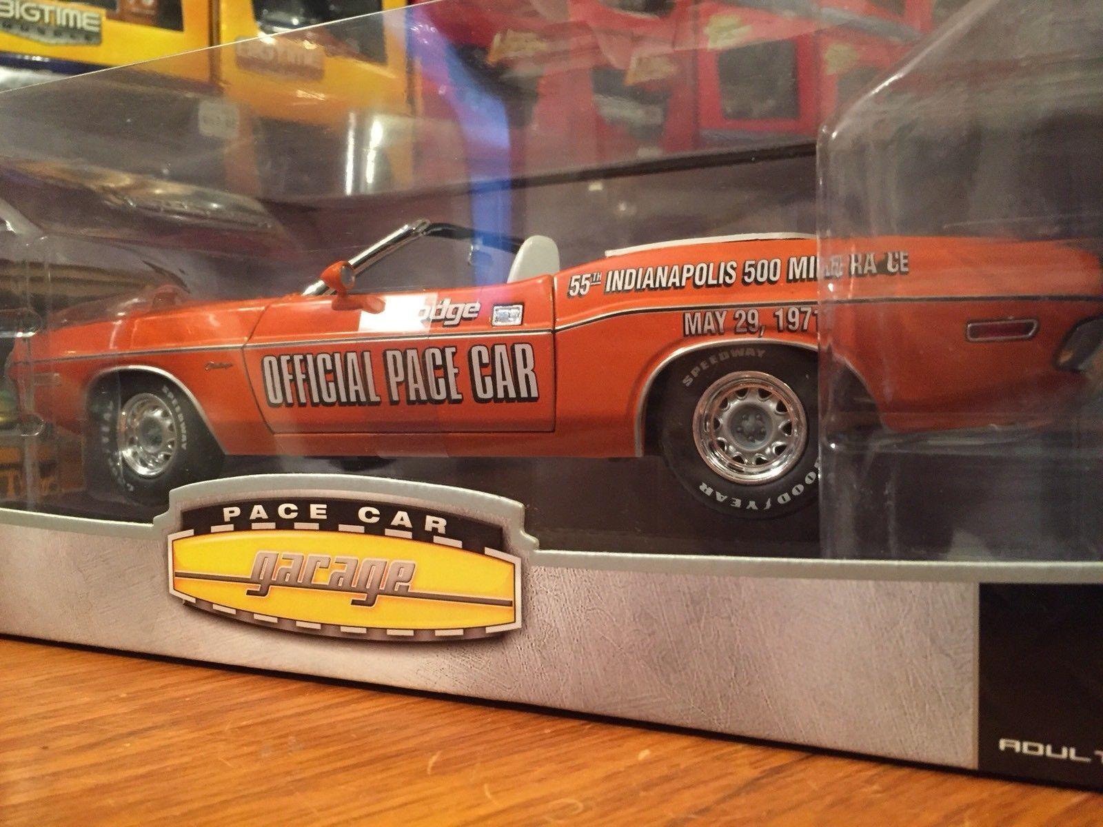 1:18 verdelight 1970 Dodge Challenger Convertibile Ritmo Car 55th.Indianapolis