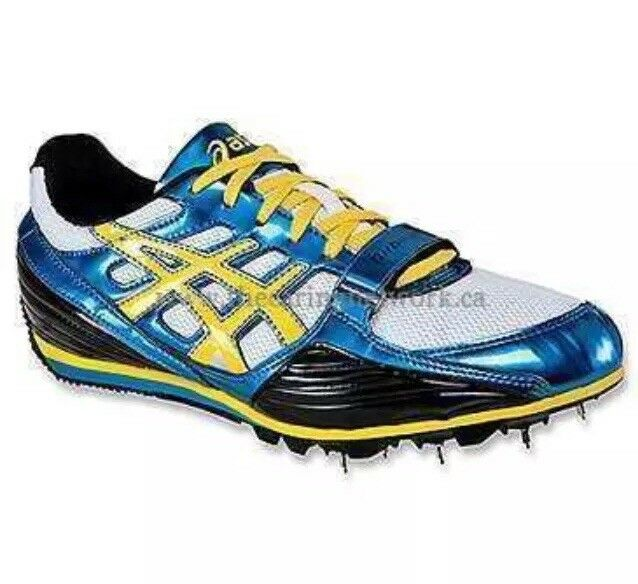 Asics Men's Turbo Jump Track Spikes shoes Sz. 12 NEW GN702-4005