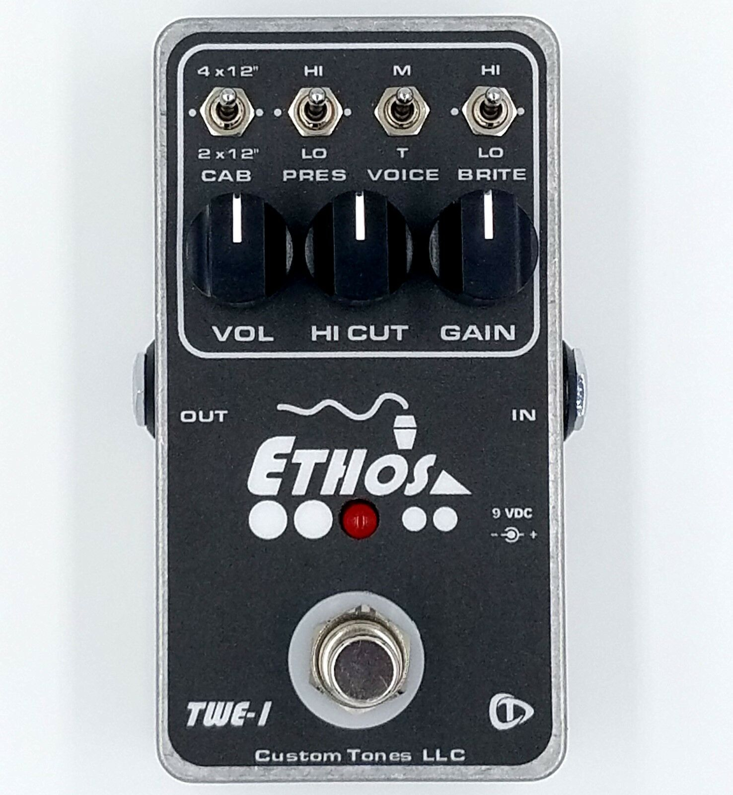 Ethos TWE-1 Overdrive Guitar Pedal  Manufacturer Direct 2019