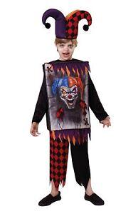 Jester Tabard + Chapeau, Taille Unique, Halloween, Les Garçons (ou Filles!) Fancy Dress-afficher Le Titre D'origine