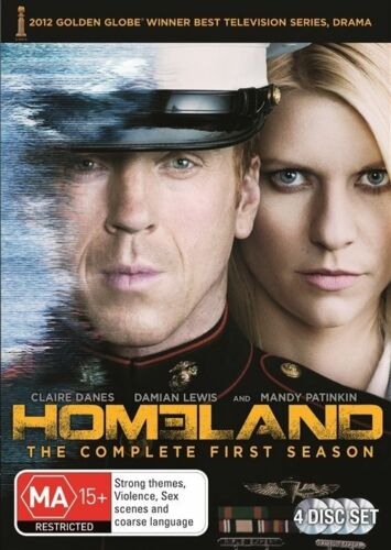 1 of 1 - Homeland : Season 1 **REGION 2** (DVD, 2012, 4-Disc Set)