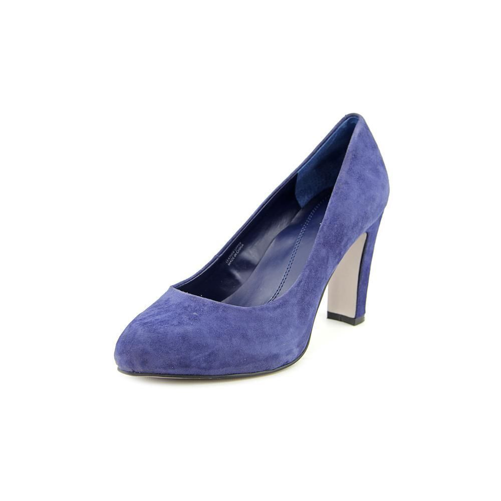 Garanzia di vestibilità al 100% Tahari Dolly Suede Pumps Regal Royal blu Round Toe Toe Toe Stilettos 7.5 M - NEW in Box  stanno facendo attività di sconto