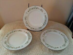 Towne House Fine China Japan Windsor 2986 Dinner Plates 10 1/4'' Set of 6