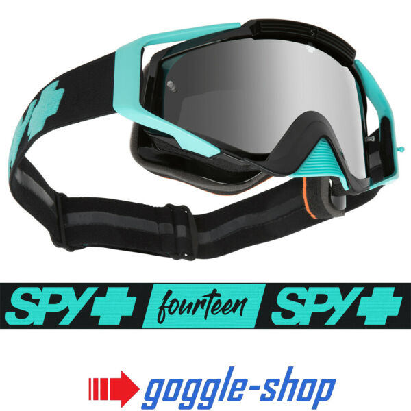 2019 Spy Omen Motocross Bike Goggles - Cole Seely / Silver Spectra Mirror Lens Om Jarenlange Probleemloze Service Te Garanderen