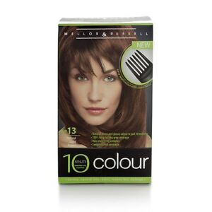 3xmellor Amp Russell 10 Minute Colour No 13 Natural Light Brown Permanent Hair Dye Ebay