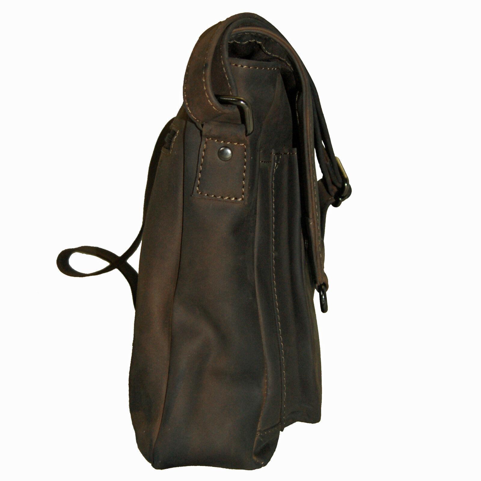 Schultertasche - Umhängetasche BALBOA aus braunem Leder Leder Leder - BARON of MALTZAHN   2019  0e8062