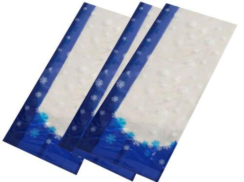 10x Stollentüten Verpackung für Stollen Wintermotiv 46 cm Gebäcktüte Klarsicht