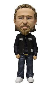 Jax-Teller-Samcro-SoA-Mc-Sons-of-Anarchy-Bobble-Head-Wackelkopf-Figur-Mezco