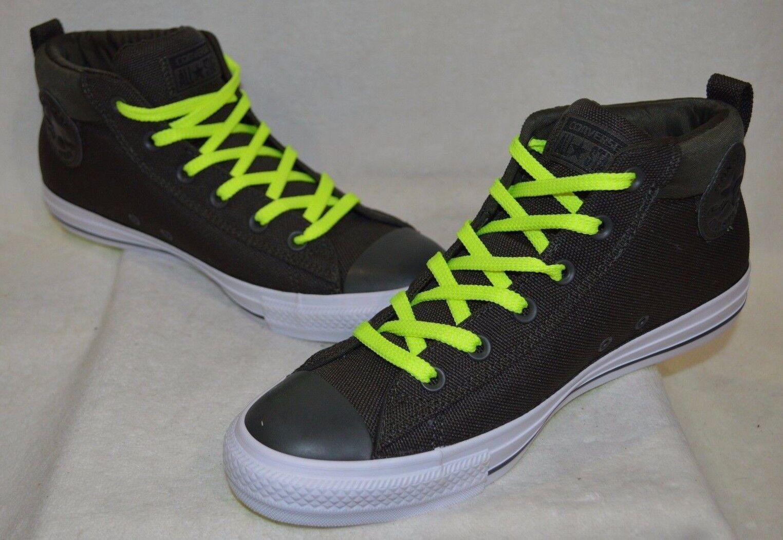 converse - street met uomini migliori in ghisa / bianco / volt sneakers - asst confezioni nwb