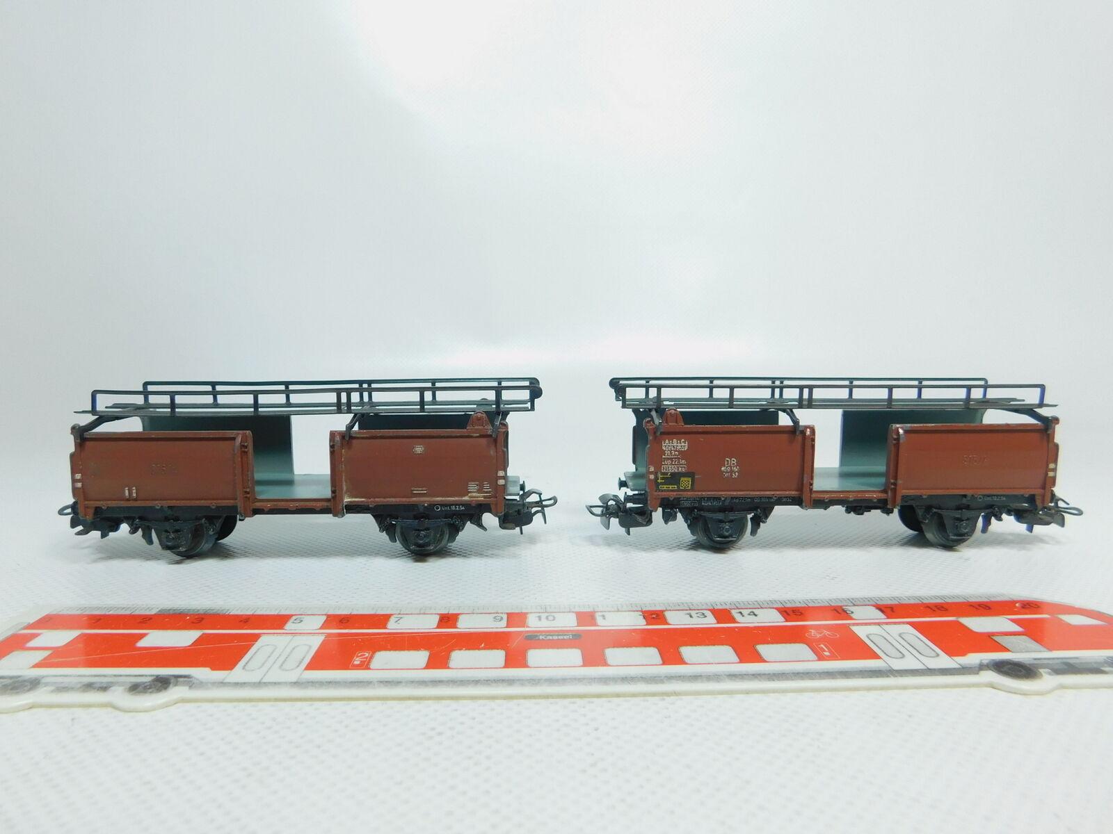 BM46-0,5  2x Märklin H0    AC 4612 Wagon sans Agrafes DB Ve grand  confortable