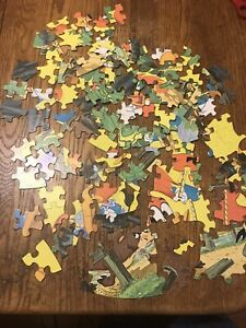 Vintage-1977-Walter-Lantz-Woody-Woodpecker-125-PC-Whitman-Jigsaw-Puzzle-Read