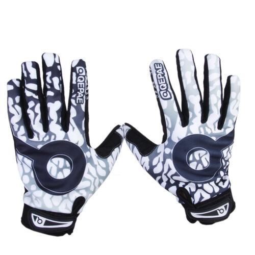 Men's Motocross Racing Cycling Dirt Bike BMX Bicycle Full Finger Gloves M