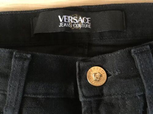 Come Dritta Misurato Come Neri Taglia 30 Misurato Gamba Vintage 30 Jeans Neri Dritta Taglia 30 Jeans 30 Versace Versace Gamba Vintage IH8BUB
