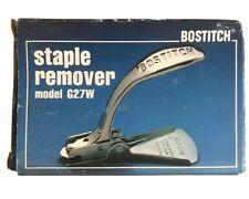 Bostitch Staple Remover Tool G27w Heavy Duty Carton Paper Box Taiwan Original