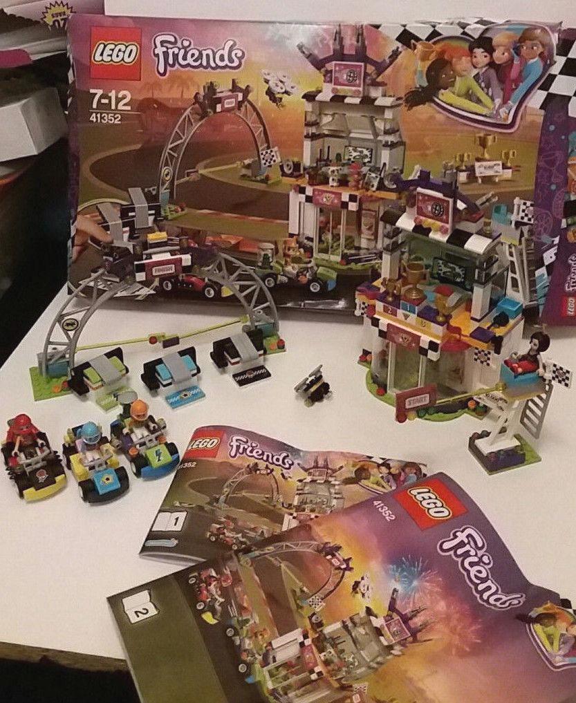 100% Genuine LEGO 41352 FRIENDS The Big Race Car Set  Pre-owned