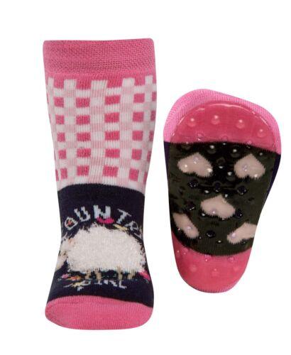 ewers Stopper RuBBer ABS Antirutsch Socken STOPPI COUNTRY GIRL Gr 18-30 NeU