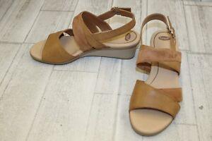 5a4a43d6a8d2 Dr. Scholl s Grace Wedge Sandals - Women s Size 9 M - Saddle ...
