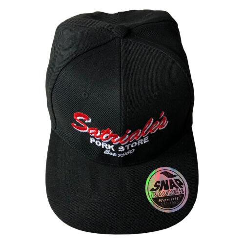 Satriales Pork Store Inspired by The Sopranos Adjustable Snapback Cap Hat
