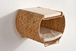 katzen tunnel katzen h hle wasserhyazinthe f r die wand montage zum stellen ebay. Black Bedroom Furniture Sets. Home Design Ideas