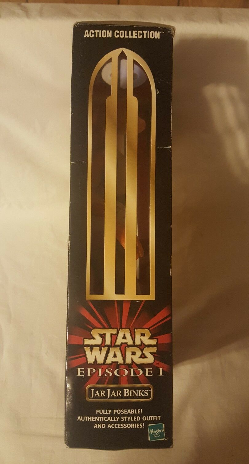 Star Wars Wars Wars Episode 1 Jar Jar Binks 12 inch Action Figure 1998 New ade720