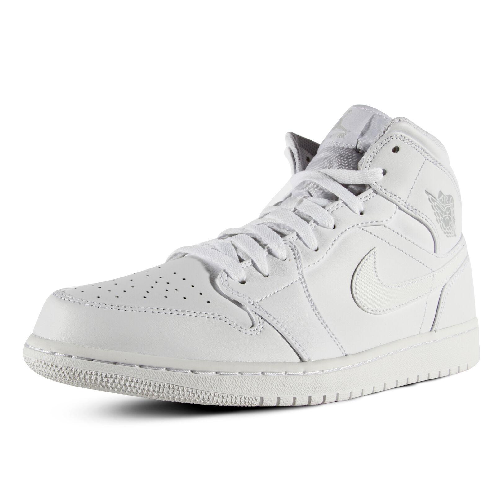 Men's Air Jordan 1 Mid Sport Casual Shoes 554724-104