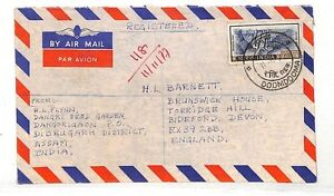 WW101 India *DOOMDOOMA* Devon GB Cover {samwells-covers}PTS
