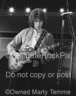 MICK TAYLOR PHOTO THE ROLLING STONES 8x10 Concert Photo in 1973 by Marty Temme 1