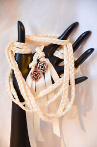 Image Is Loading Copper Ivory Celtic Knot Wedding Handfasting Cord V2