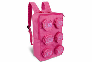 Rare-Genuine-Lego-Brick-PINK-BACKPACK-for-girls-851950-New-with-Lego-tags