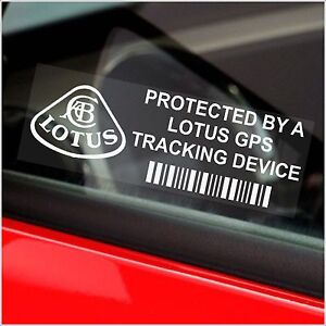 5-x-LOTUS-Tracking-GPS-Device-Security-Stickers-Elise-Car-Alarm-Tracker-Signs
